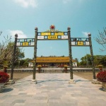 the imperial citadel in hue