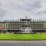 Old Presidental Palace in Ho Chi Minh City