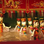 Water puppet show in the Golden Theatre