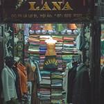 A Silk shop in Hoi An