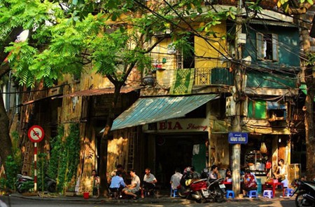 A corner of Hanoi Old Quarter
