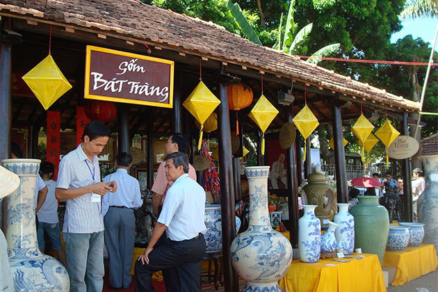 Bat Trang Ceramic Village in Holiday package to Vietnam