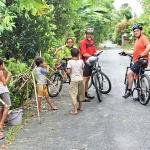 Biking tour in Dong Ngac Village
