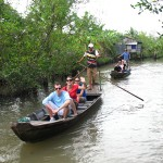 Boat trip to Vinh Long