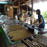 Coconut candy workshop in Mekong