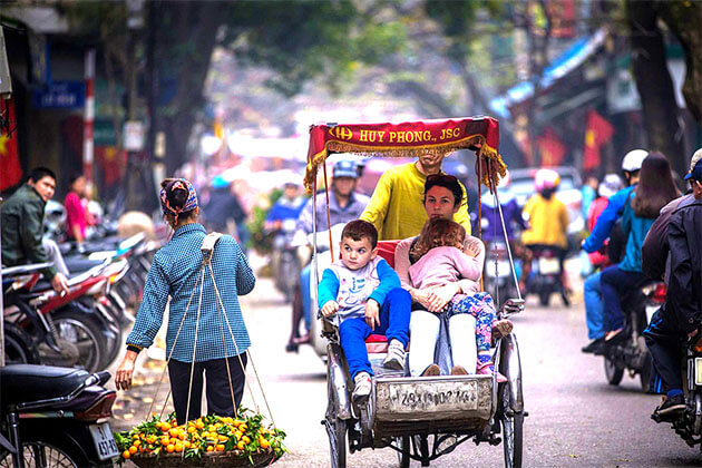 Cyclo Mulism Package in Vietnam