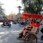 Cyclo Tour Holiday in Vietnam