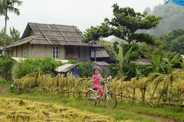 Pom Coong Village in Vietnam Holiday