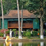 Ho Chi Minh house on stilt