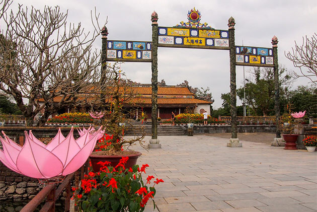Hue Imperial Citadel in Vietnam Holiday