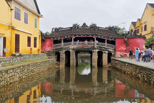 Japanese Covered Bridge in Holiday Package in Danang
