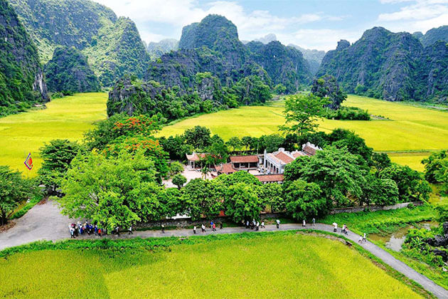Ninh Binh in Package Holiday to Vietnam start From Hanoi