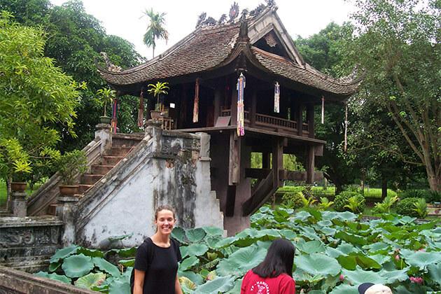 One Pillar Pagoda in Hanoi Vietnam Holiday Package