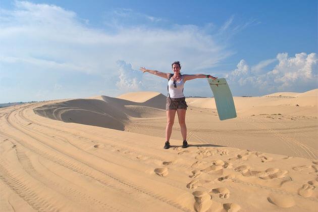 Sand dunes in Mui Ne Vietnam Holiday