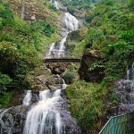 Silver Waterfall in Sapa Vietnam