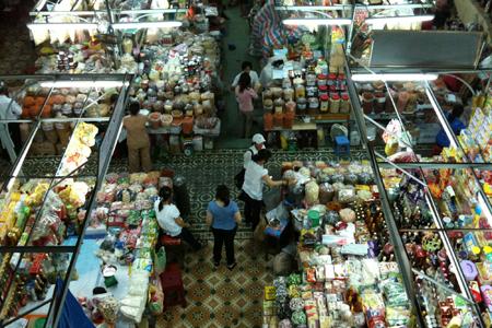 Stalls in Han market