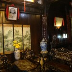 The old way of decoration in Tan Ky House