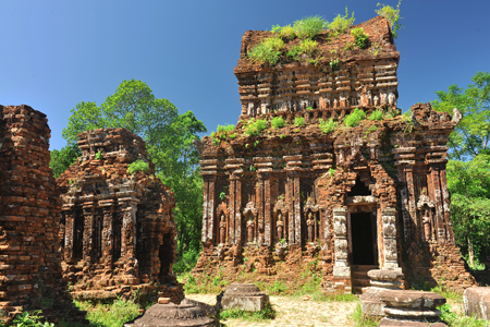 The ruins of the Cham Civilization in My Son