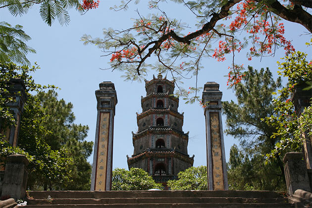 Thien Mu Pagoda in Vietnam Holiday