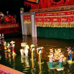 Water Puppet Show in Holiday to Vietnam