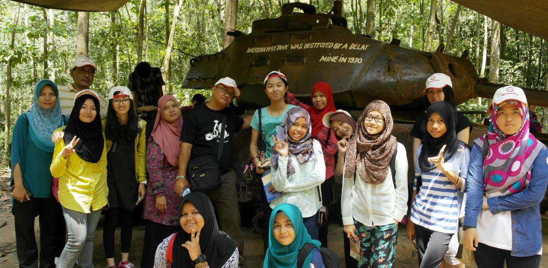 visit cu chi tunnels in vietnam holidays