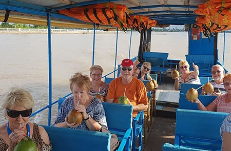 Feedback of Yasmin on 5D/4N Ho Chi Minh City – Cycling Mekong Delta Adventure Package Tour