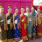 Laos traditional dress for women