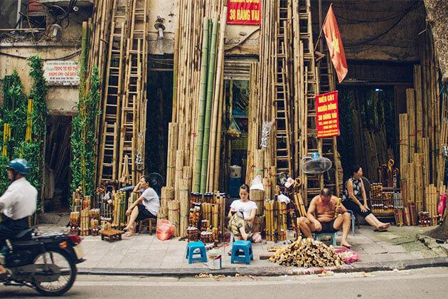 Hanoi Old Quarter Vietnam Muslim Tour