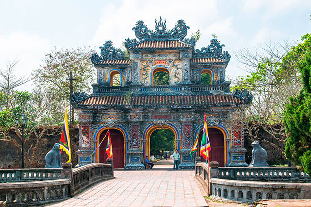 Hue Imperial City for Holiday in Vietnam